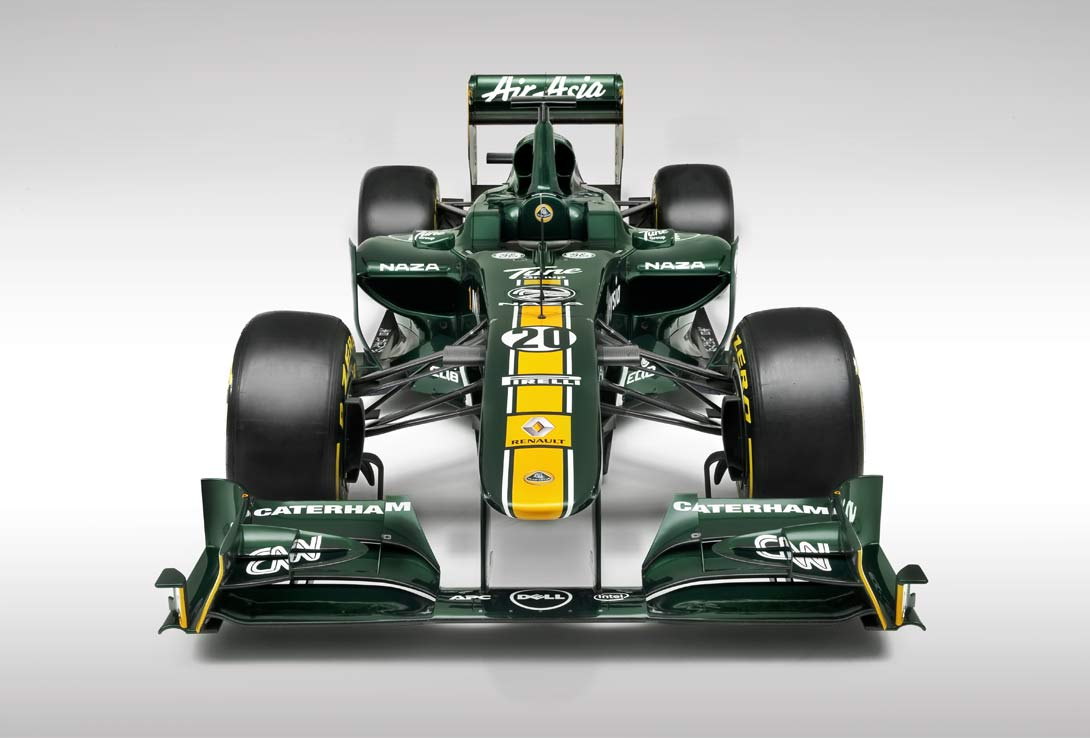 Team Lotus F1 front | By Ross Power