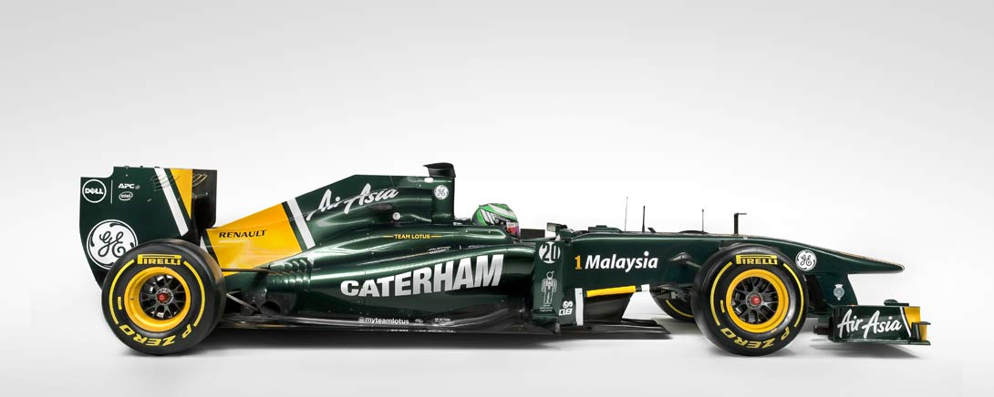 Team Lotus F1 Side| By Ross Power