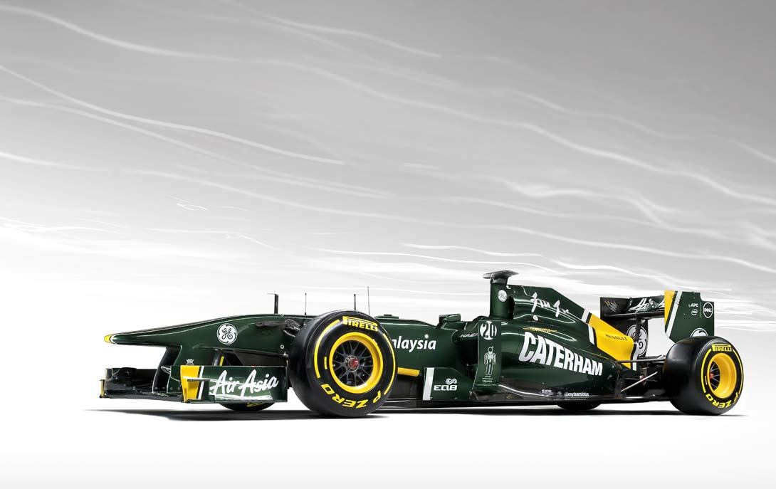 Team Lotus F1 Front 3qtr | By Ross Power